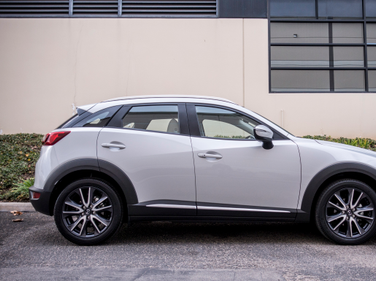 The CX-3 is Mazda's entry-level subcompact crossover.