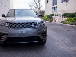 The Velar's Matrix-Laser LED headlights