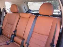 Leather surfaces can be added in the Platinum Reserve Interior package.