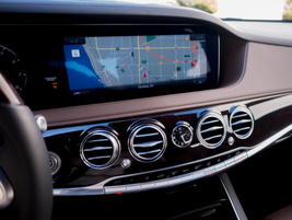 The 12.3-inch display is the same one used in the latest E-Class.