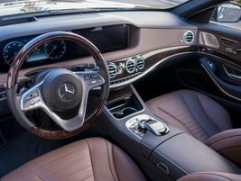 Active Steering Assist helps the driver keep the S450 centered in the lane while it's cruising.