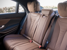 Rear seating provides a whopping 43 inches of leg room.