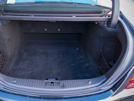 The S450's cargo area provides 18.72 cubic feet of space.
