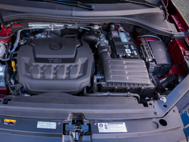 The Tiguan is powered by a 2.0T turbocharged 2.0-liter inline-four.