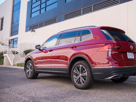 The longer Tiguan is now 185.2 inches, which would make it one of the largest among compact SUVs.