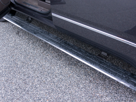 Denali also adds power retractable running boards.