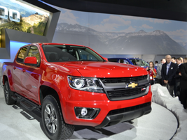 Chevrolet reentered the mid-size pickup truck market with its all-new 2015 Colorado.