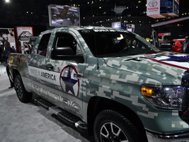 This Toyota Tundra is all dressed up with places to go.