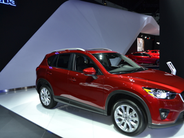 The Mazda CX-9 is the automaker's largest SUV.