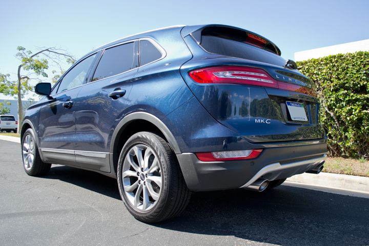 Appealing exterior styling includes wrap-around rear taillights.