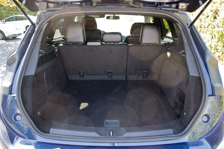 The MKC offers 25.2 cubic feet of cargo area with the seats in the upright position.