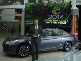 """The 2014 Honda Accord was named the """"Green Car of the Year"""" by Green Car Journal."""