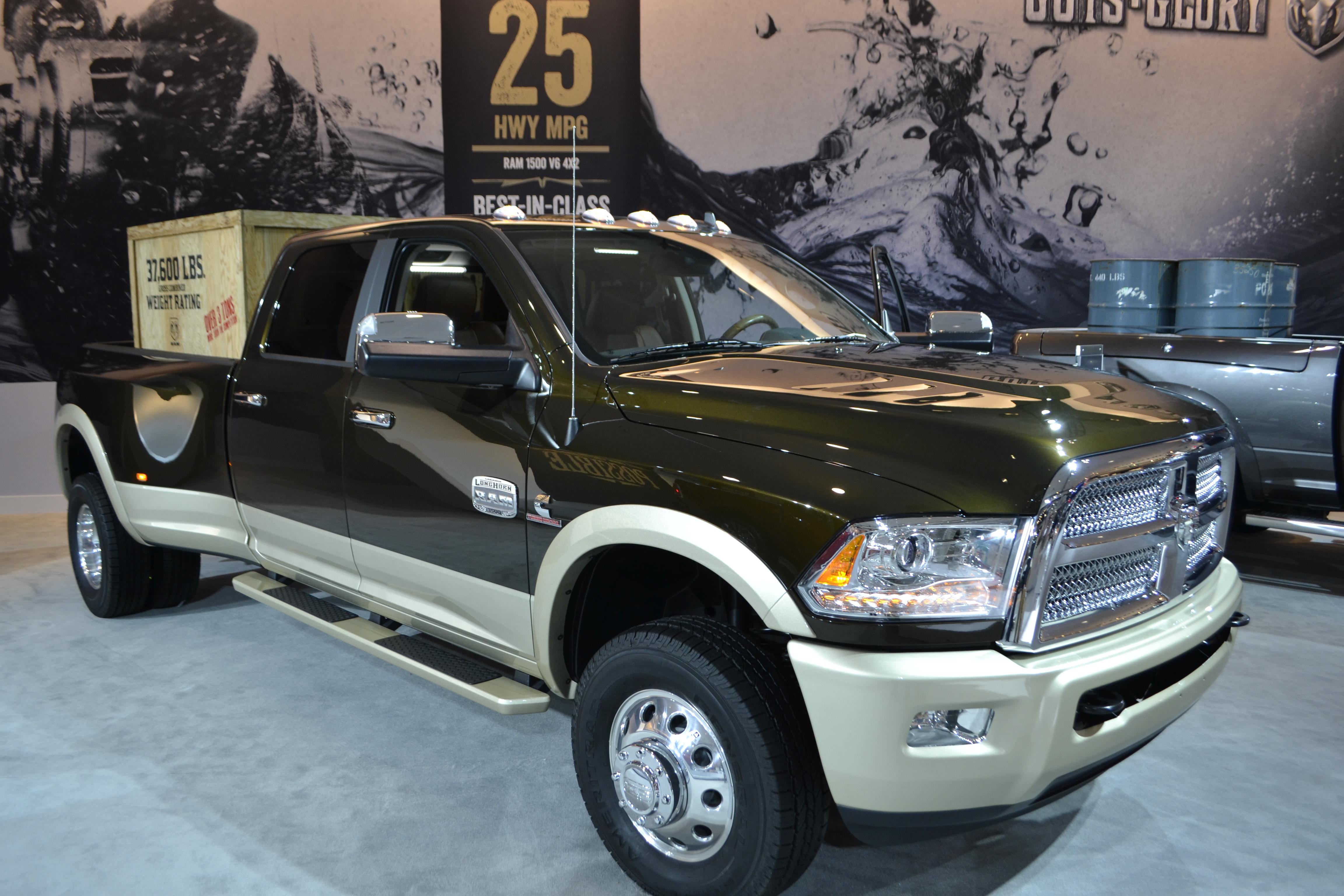 L.A. Auto Show 2013: Pickup Trucks