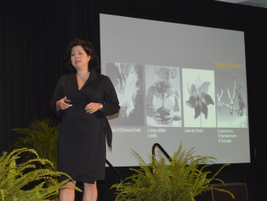 Sheryl Connelly, futurist with Ford, provided the closing keynote address about future vehicle...
