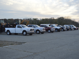 Ram provided a full line up of truck and commercial products from the Promaster City to the Ram...