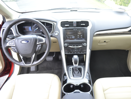 The Fusion's interior cabin is spacious and comfortable.