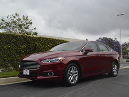 The Fusion, which was fully redesigned for the 2013 model year, offers four four-cylinder engine...