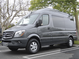 This is the short wheelbase Sprinter 2500 passenger van with the high roof, which has the same...