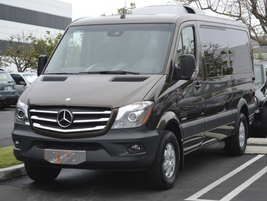 This is the low-roof passenger van model on the Sprinter 2500 in the 144-in. wheelbase. This...