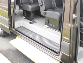 The low-roof models have a maximum interior standing height of 65-in.