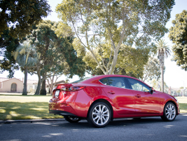The Mazda3 hasclean, fluid, elegant lines, and a compact profile.