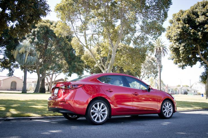 Mazda's 2014 Mazda3 Sedan