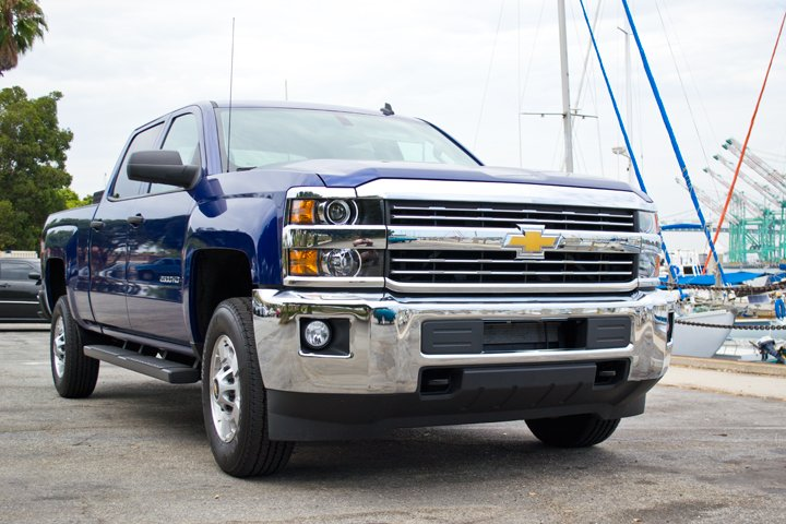 GM's Bi-Fuel CNG Chevrolet Silverado 2500HD