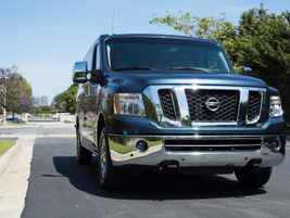 Nissan's 2014 NV3500 passenger van was first introduced for the 2012 model year.