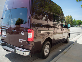 The NV cargo van comes in three payload configurations, including the NV1500, NV2500, and NV3500.