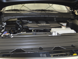 An example of a 5.6L V-8 gasoline engine in a MY-2016 TITAN XD. When engines go into production,...