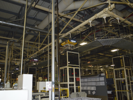 The Decherd Powertrain plant employs about 1,600 people, and is highly automated.