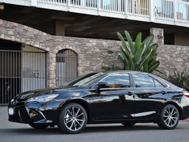 The 2015 Camry is 1.8 inches longer than the 2014 model.