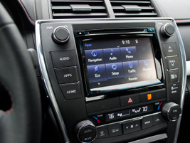 A 6.1-inch touch screen, Bluetooth connectivity, and a USB port come standard.