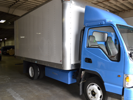 Currently, GreenKraft is focusing on selling its 1061 LR medium-duty natural gas truck.
