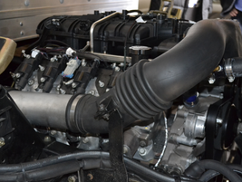 GreenKraft's 1061 LR 14,500 GVWR truck has a GM 6.0L V-8 gaseous ready engine that is CARB and...