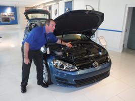 Lockwood shows the Volkswagen Golf SportWagen S 4Motion, VW's second new vehicle for 2017.