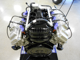 A 6.2L V-8 CNG/LPG engine. It can also run on biodiesel and E-85 as well.