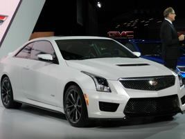 The 2016 Cadillac ATS-Vhas455 horsepower and 445 lb.-ft. of torque.