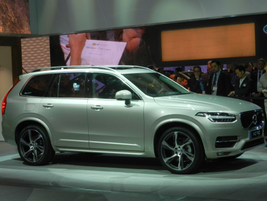 Volvo's 2016 XC90 features a run-off road protection package and auto brake at intersection...