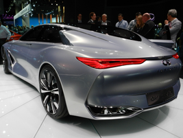 Infiniti's Q80 inspiration concept car
