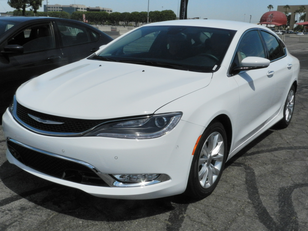 The 2015 Chrysler 200 features a new nine-speed automatic engine with available AWD.