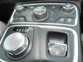 The 200's interior features a 3.5-inch instrument cluster and electronic shfit with rotary knob.