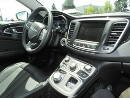 The 200 includes amenities such as heated seats, interior LED lighting and remote keyless entry...