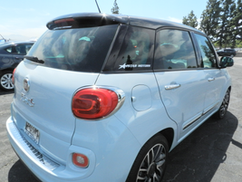 The 2014 Fiat 500L has a starting MSRP at $19,195. It can get up to 33 highway mpg and 25 city mpg.