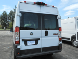 The photo shows the rear of the ProMaster.