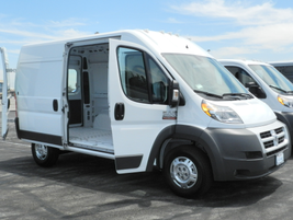 The 2014 Ram ProMaster 2500 is available in two roof heights, three wheelbases and four body...