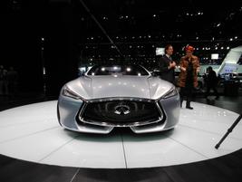 The Infiniti Q80 Inspiration is a beautiful 550 horsepower concept car.