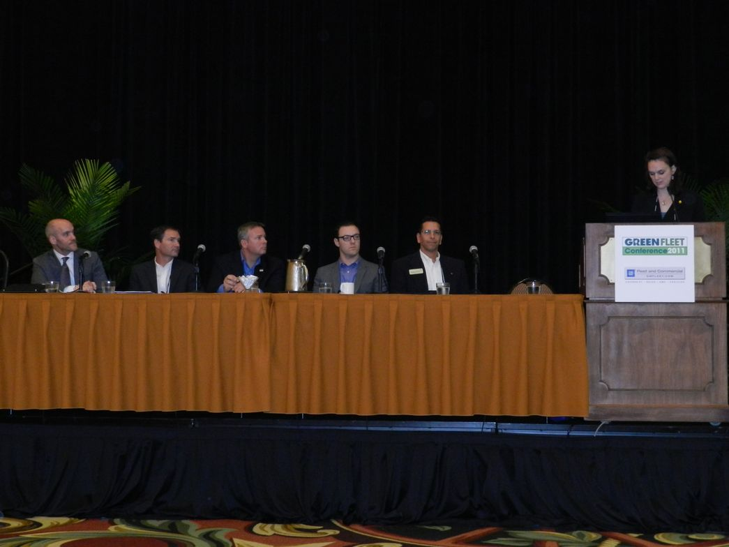 Mindy Mize of the North Central Texas Council of Governments moderated Tuesday's OEM panel....