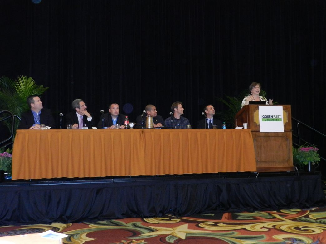 Wendy Dafoe of the National Renewable Energy Laboratory moderated a panel about determining the...