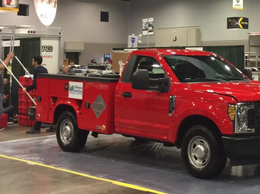 Alliance AutoGas technicians converted this F-150 to run on propane autogas.